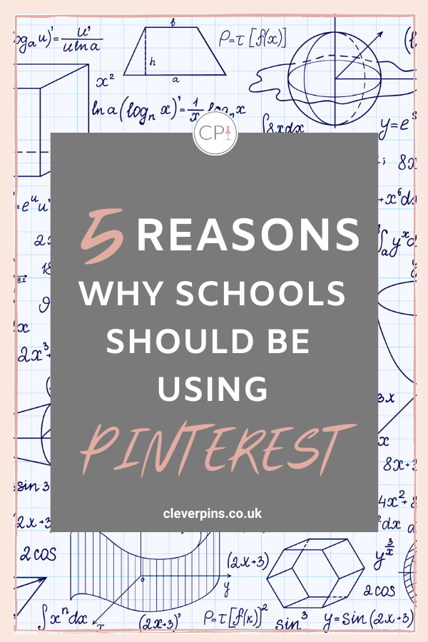 5 Reasons why schools should be using Pinterest