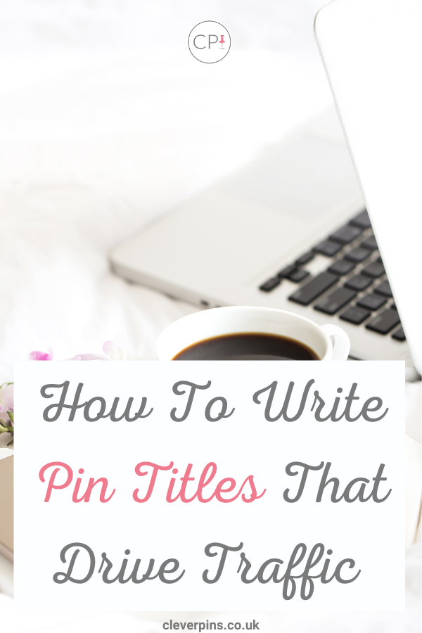 How to write pin titles