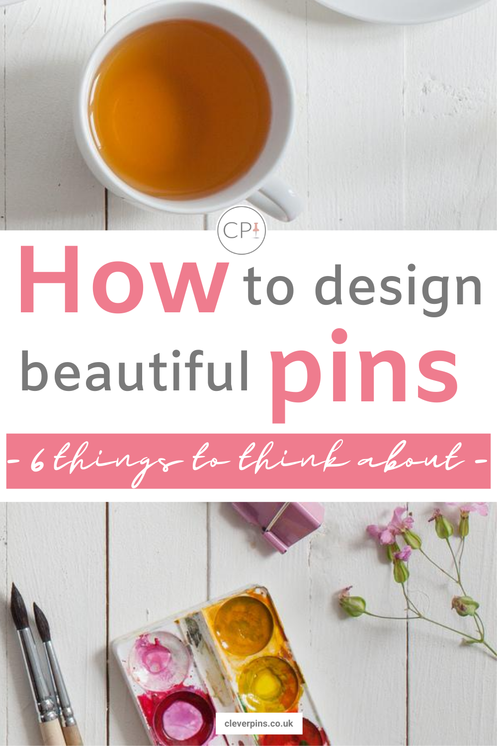 How to design beautiful pins