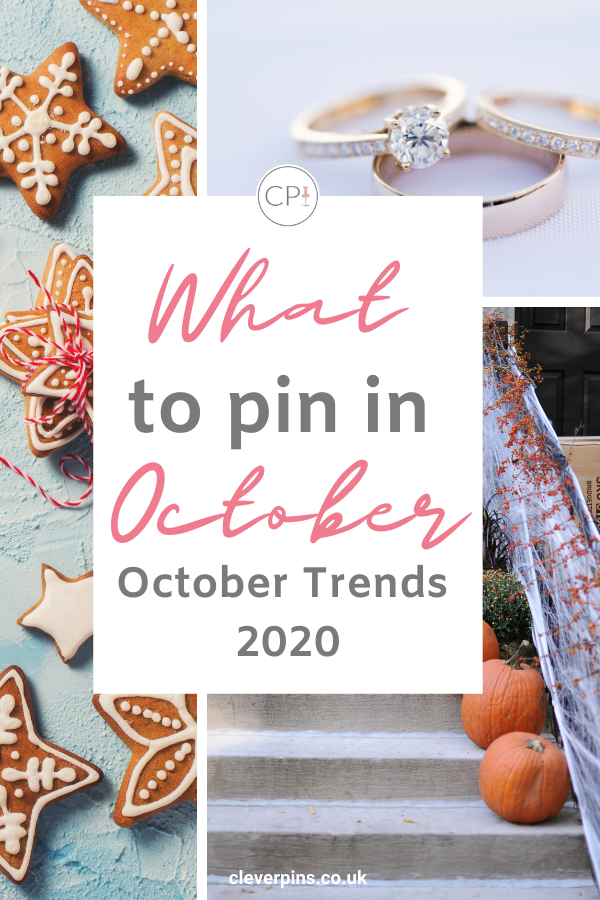 Pin template with autumn photos and text