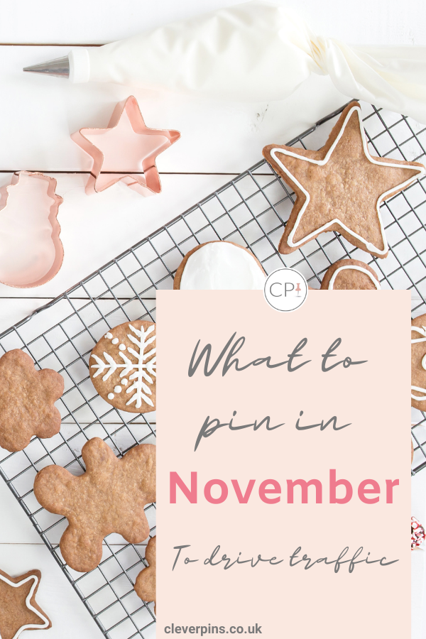 What content to pin and create in November