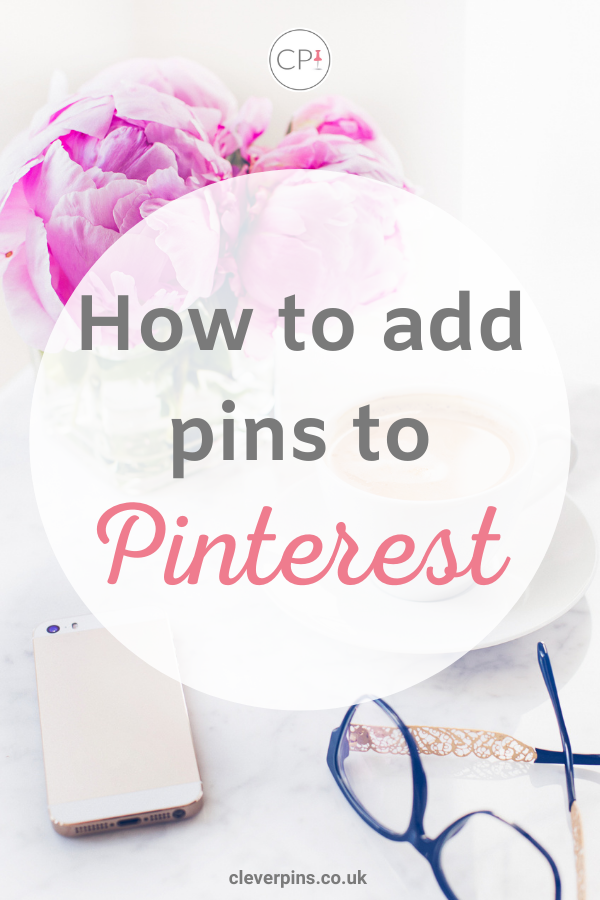 Pin template for adding pins to pinterest