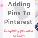 Pin template how to add pins to Pinterest