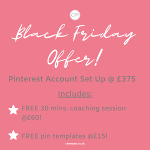 Text to advertise Black Friday offer