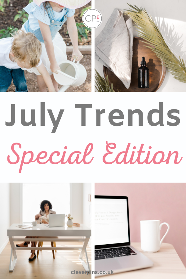 What content to pin and create in July